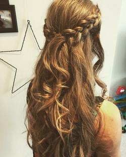 beautiful bridal braids