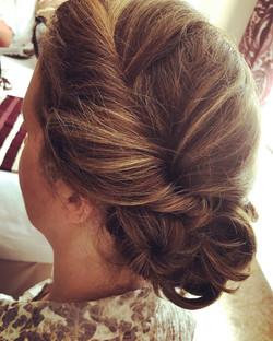 Bridesmaids and Bridal hair