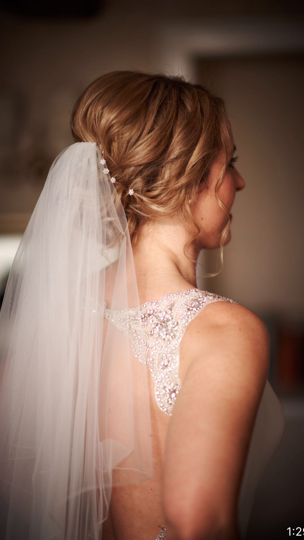 Wedding hair: Miss D, Reigate,Surrey