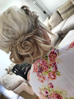 Wedding Day Hair.