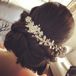 Beautiful bridal hair from last weekend