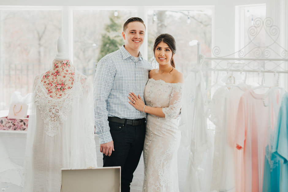 Lauren's Bridal Shower: white + pink perfection