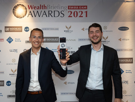 WealthBriefing Swiss EAM Awards 2021