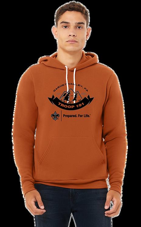 T-3719 Bella + Canvas Unisex Pullover Hooded Sweatshirt