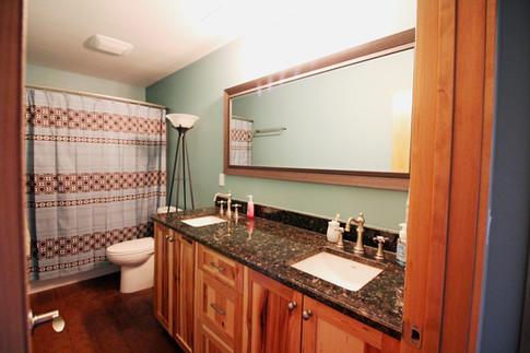 Natural Hickory Bathroom