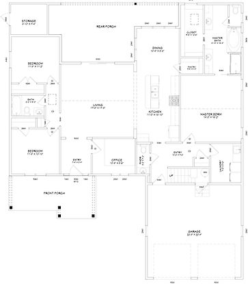 Custom Home Rancher with Bonus Floorplan