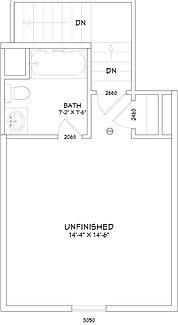 Custom Home Bonus Room