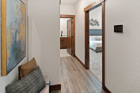 Security Panel and Mudroom