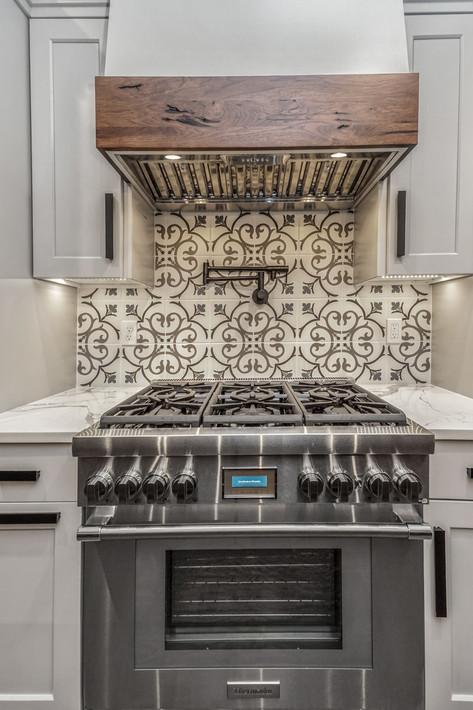 Decorative Tile Backsplash