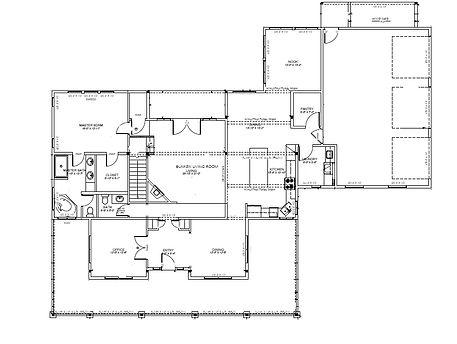 Farmhouse Floorplan Custom