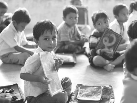 Are the problems of India's education inherent in the society?