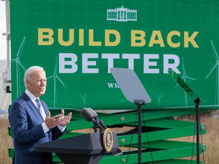 Biden needs to invoke his inner LBJ to Build Back Better