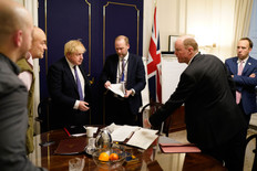 Cummings and Goings: Boris takes back control