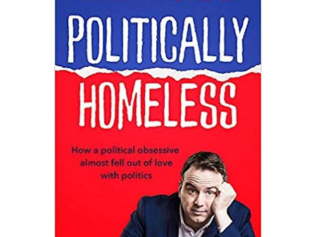 'Politically Homeless' mixes caustic satire with political reflections