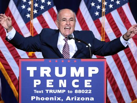 The Rise, Fall, and Fall Again of Rudy Giuliani