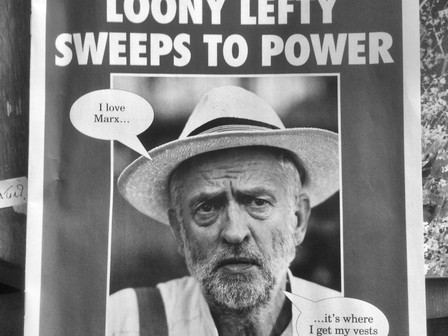 'Corbyn - the toxic, outdated relic'