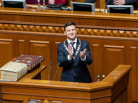 Ukraine's Zelensky - Hanging by a thread?
