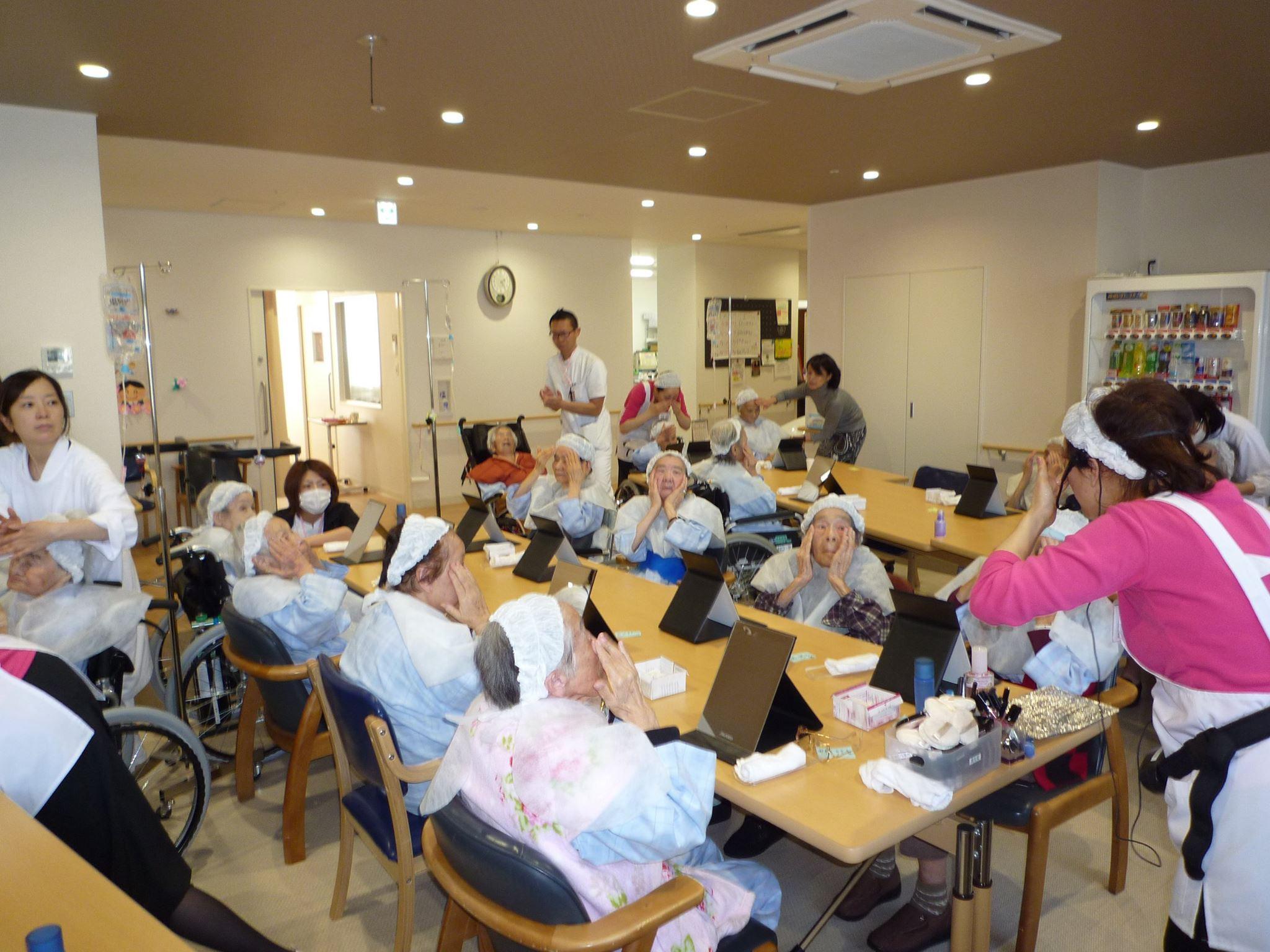 2016年1月14日 菅原病院化粧療法教室