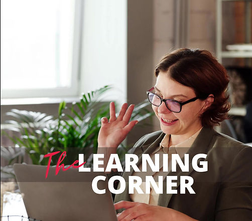 Describes what the Learning Corner is about