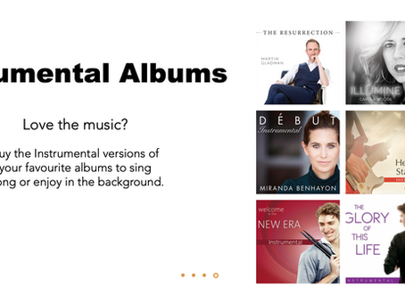 New Instrumental Albums Available Now!