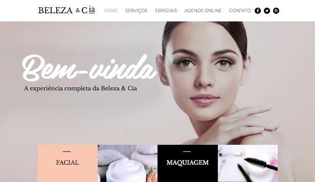 Templates Em HTML Para Cabelo E Beleza