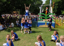 Kids Cheerleading Squad
