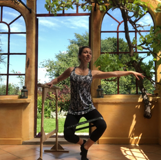 Barre, Flexibility, Dance and Cheerleading With Natalie - Click Me