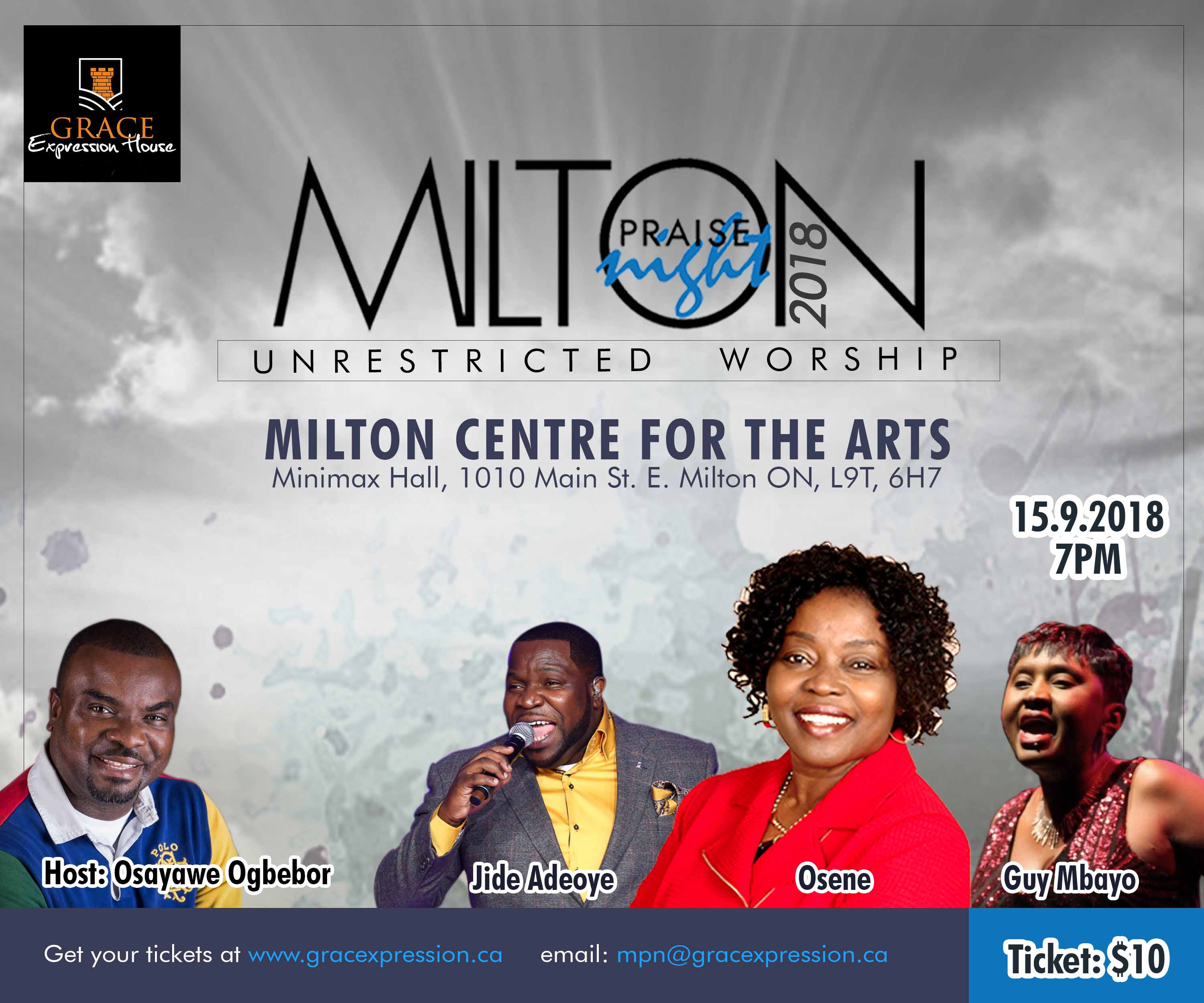 Milton Praise Night