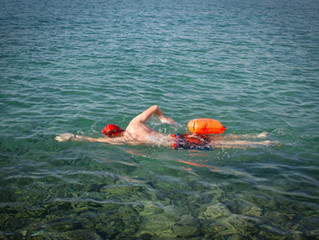 Overcoming fear in the open water