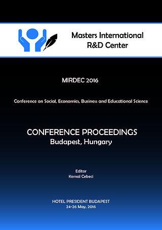 conference proceedings mirdec budapest 2016