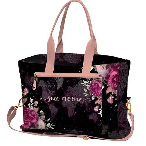 Bolsa de Viagem - Floral Black
