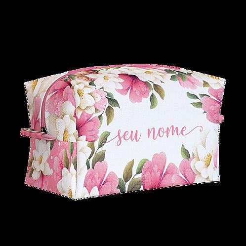 Estojo Box - Floral Rose - Personalizado
