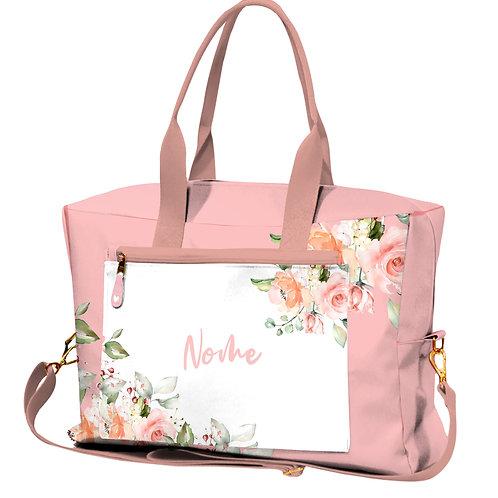 Bolsa de Viagem - Flores Rose