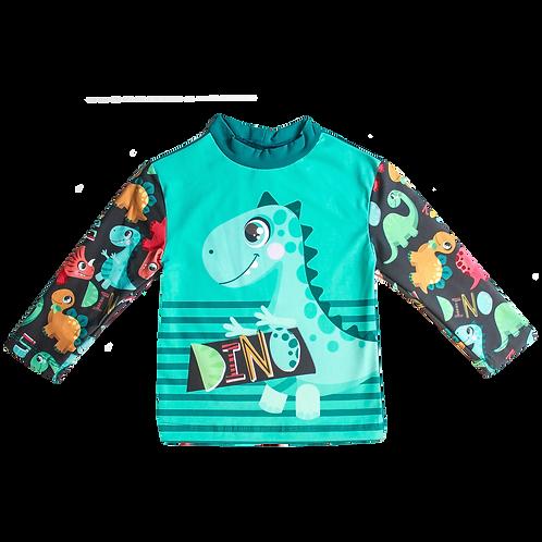 Camisa UV50+Dinossauro