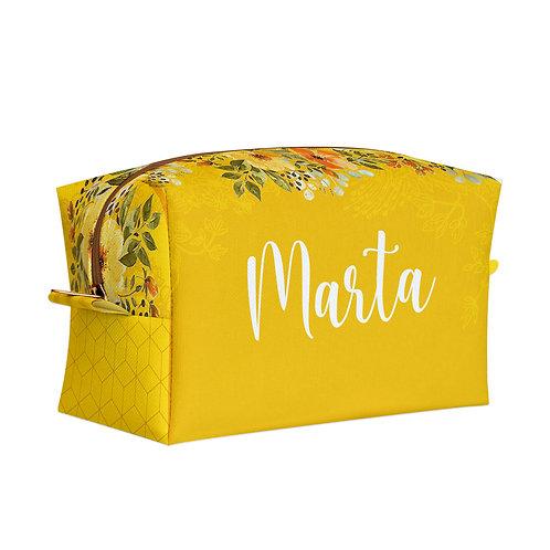 Estojo Box - Amo Você Amarelo