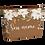 Thumbnail: Necessaire - Flor de Chocolate - Personalizada