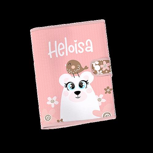 Caderneta Vacinação - Ursa Rosa