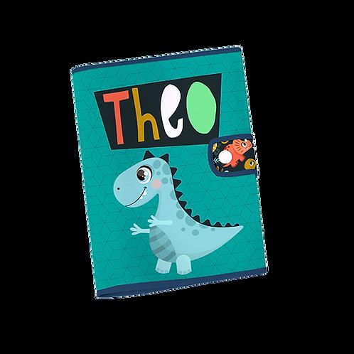 Caderneta Vacinação - Dinossauro
