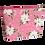 Thumbnail: Necessaire - Floral Rose - Personalizada