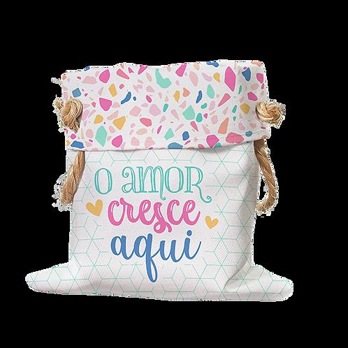 Cachepot - O Amor Cresce Aqui