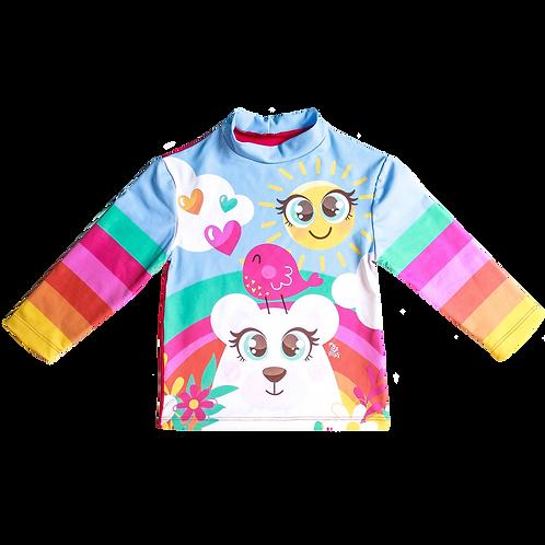 Camisa UV50+ Urso Sol