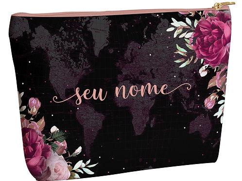 Necessaire - Floral Black