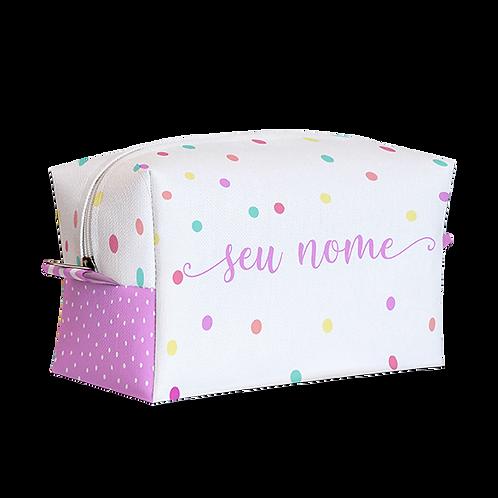 Estojo Box - Confeti - Personalizado
