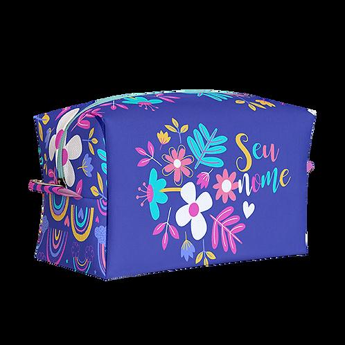 Estojo Box - Flores - Personalizado