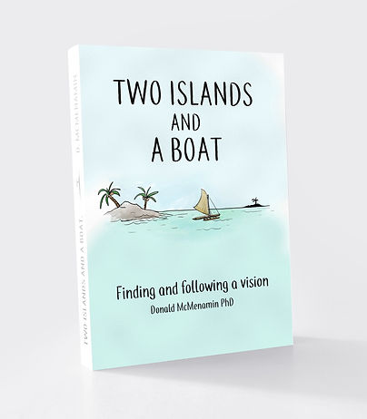 Two Islands and a Boat the book