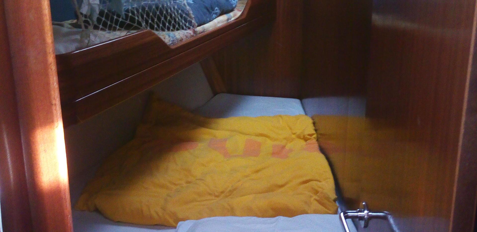 Bugkabine Backbord