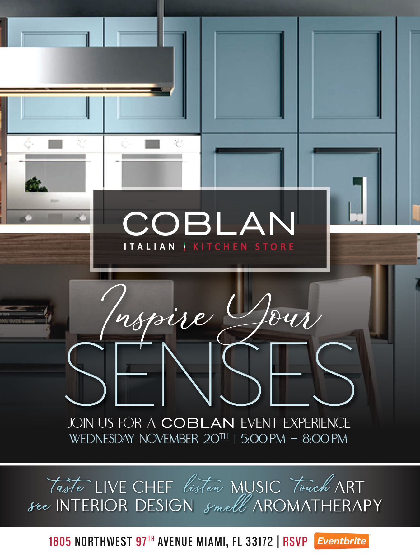 Coblan 5 Senses Event
