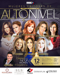 11 Mujeres Exitosas Flyer