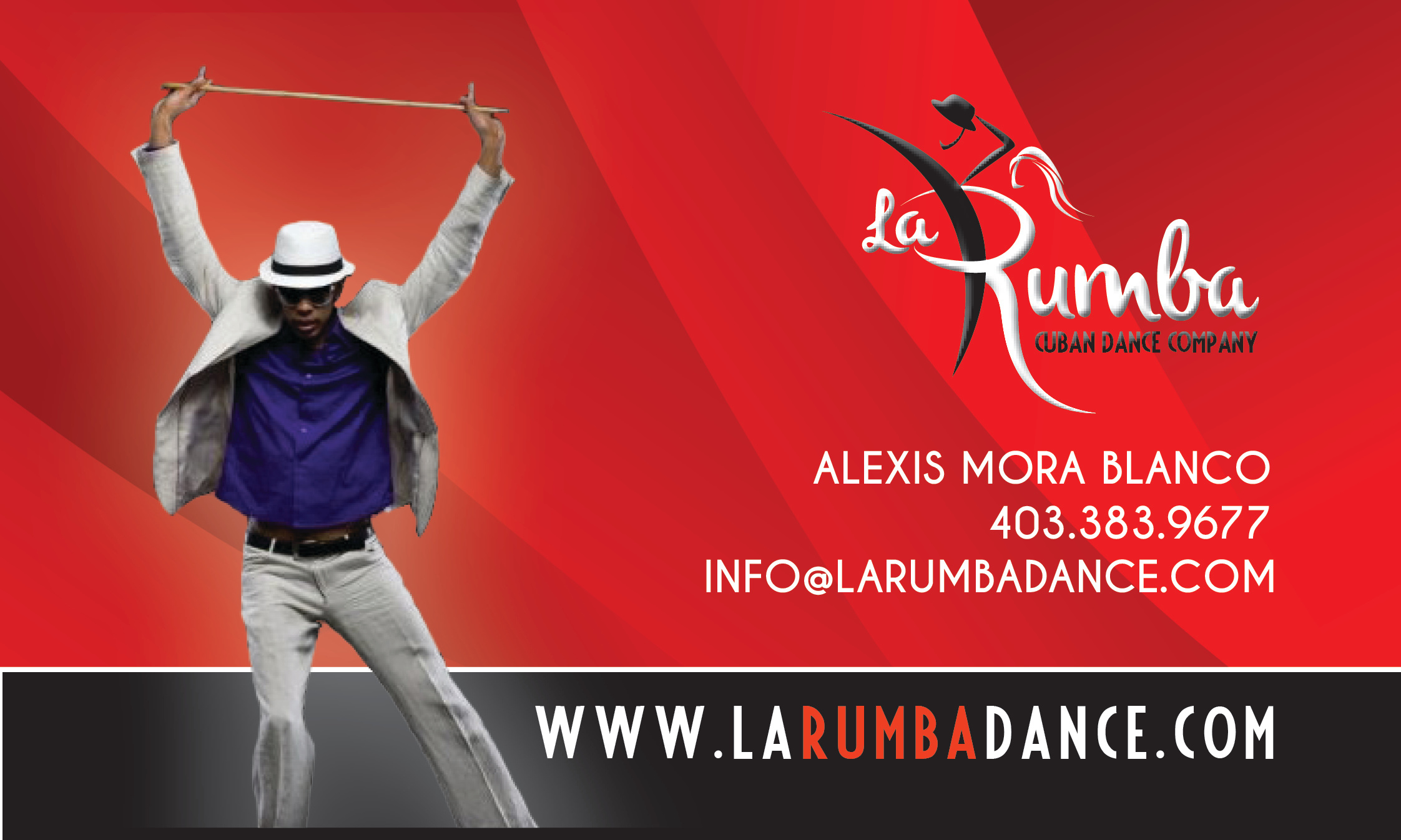 CLIENT: LA RUMBA CUBAN DANCE CO.
