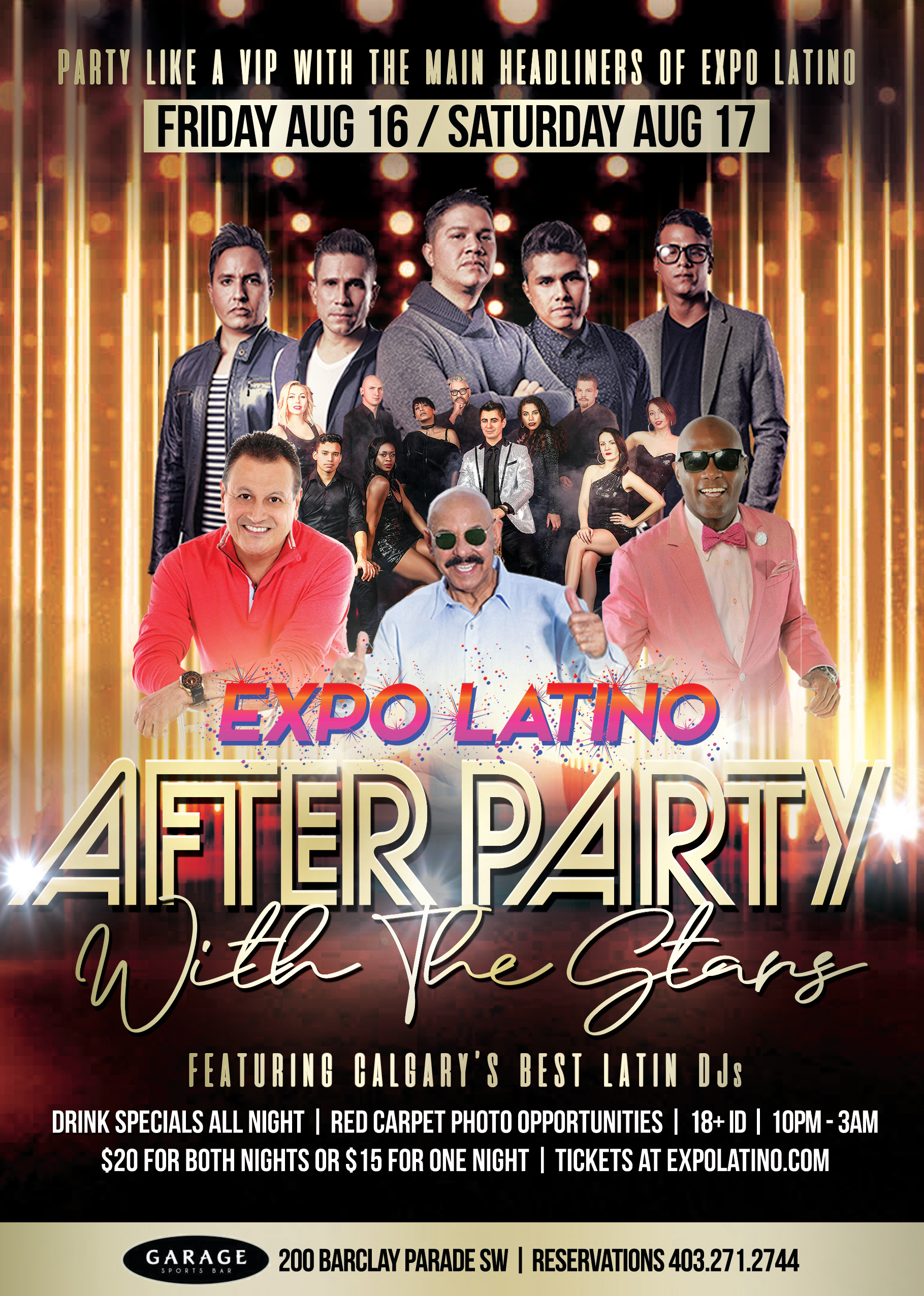 Expo After Party Poster